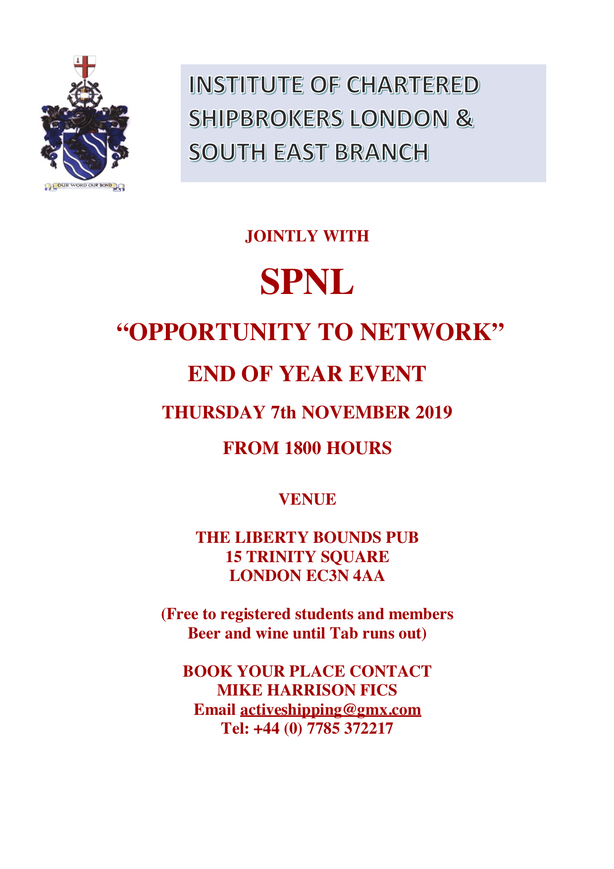 ICS LB SPNL NETWORKING 07.11.2019